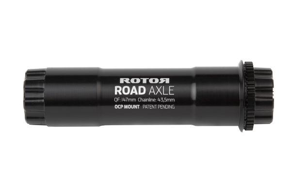 ALDHU + VEGAST 30mm Achse Road standard für 43,5mm Kettenlinie