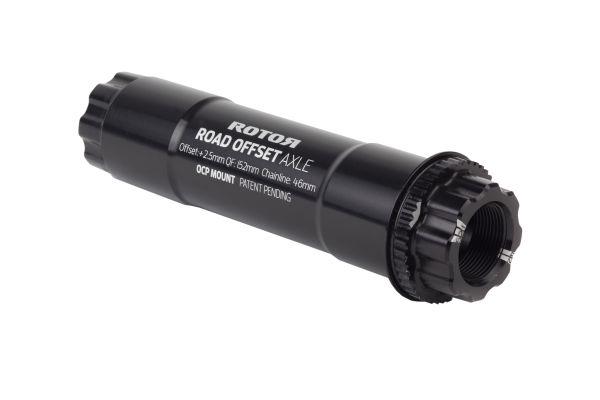 ALDHU + VEGAST 30mm Achse Road offset für 46mm Kettenlinie (Spacer immer benötigt!)