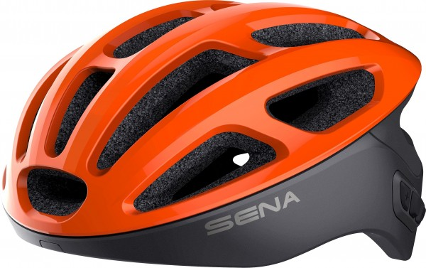 Sena Smart Cycling Helmet, R1, Electric Tangerine S